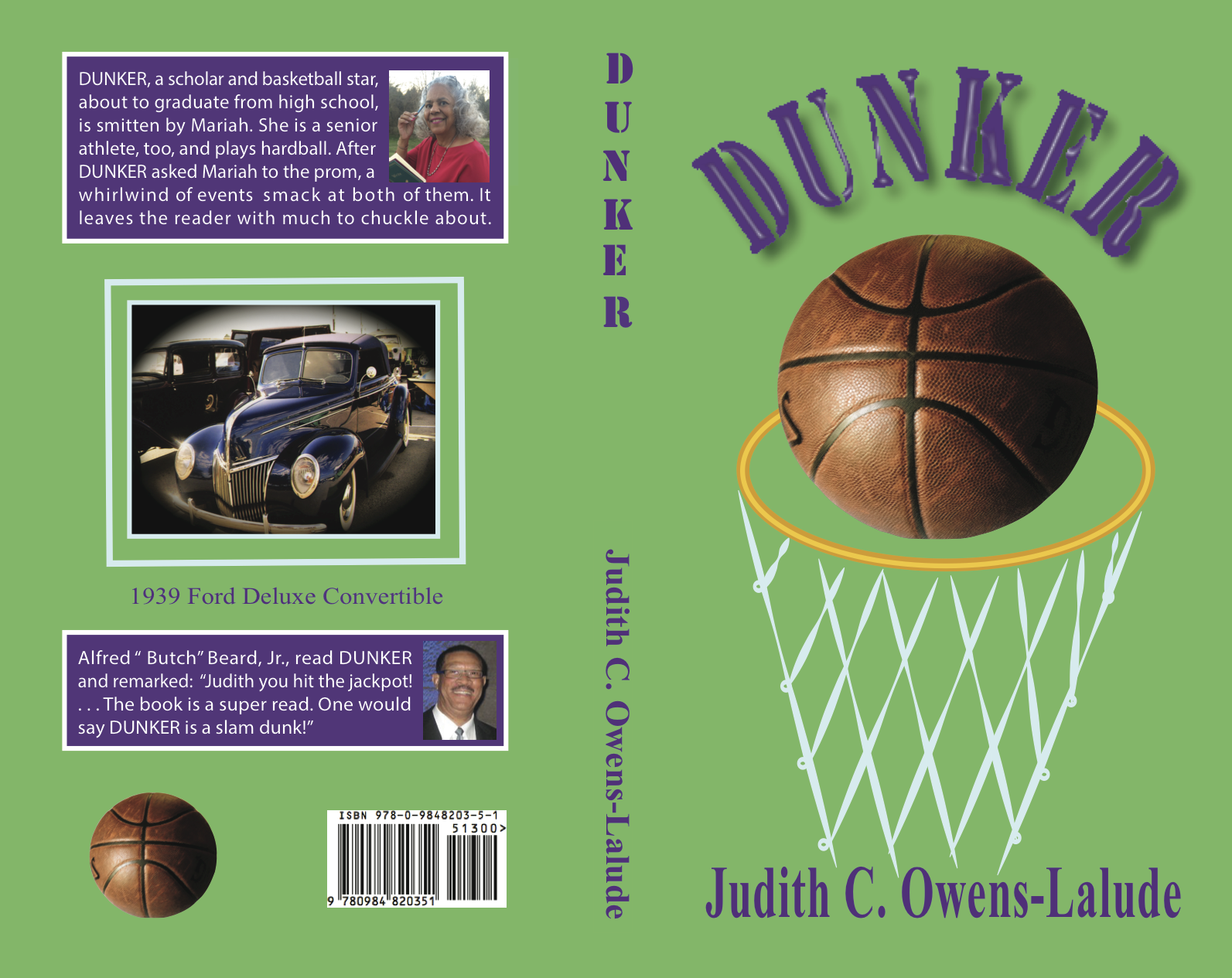 Dunker Book April 18, '16 cover