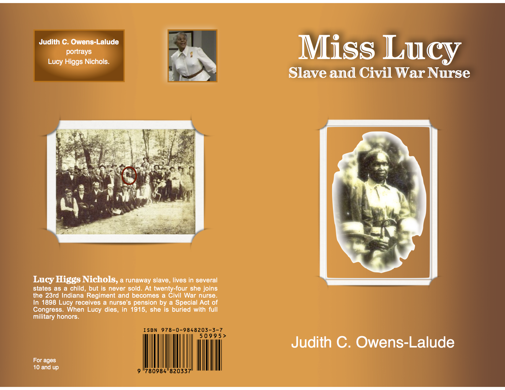 Lucy - Book Cover 9.95 - New - 10 & up