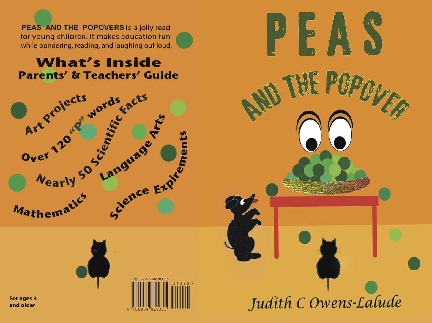Peas Book Cover png
